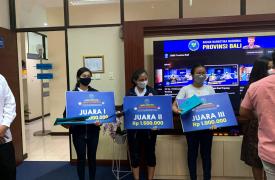 KSPAN SUKSMA Berhasil Meraih 3 Peringkat Teratas dalam Lomba Reels BNNP Bali